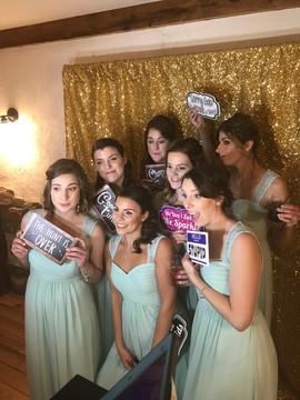 Wedding Party enjoying the Pixie