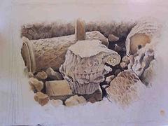 ruines gallo-romaines Loupiac l'Antique