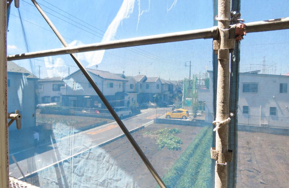 2階窓からの眺望