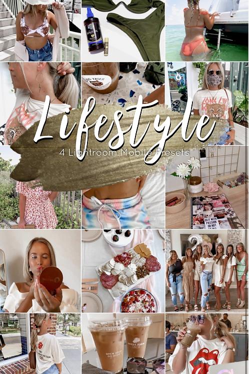 Lifestyle • 4 Lightroom Mobile Presets