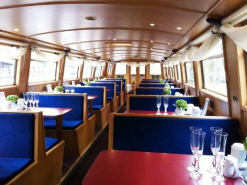 Lancaster Canal Boats corporate hire kingfisher