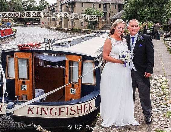 Lancaster Canal Boats private hire kingfisher