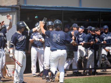 Baseball sweeps East Central