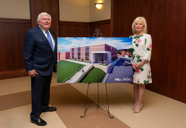 The new Pharmacy & Rural Healthcare Center that will come to SWOSU. Photo provided.