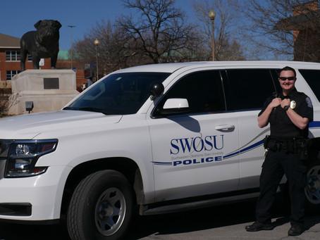 Getting to know SWOSU PD: Patrolman Brandon Lewis
