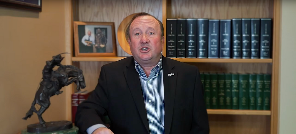 SWOSU President Randy Beutler. Photo: Screenshot.