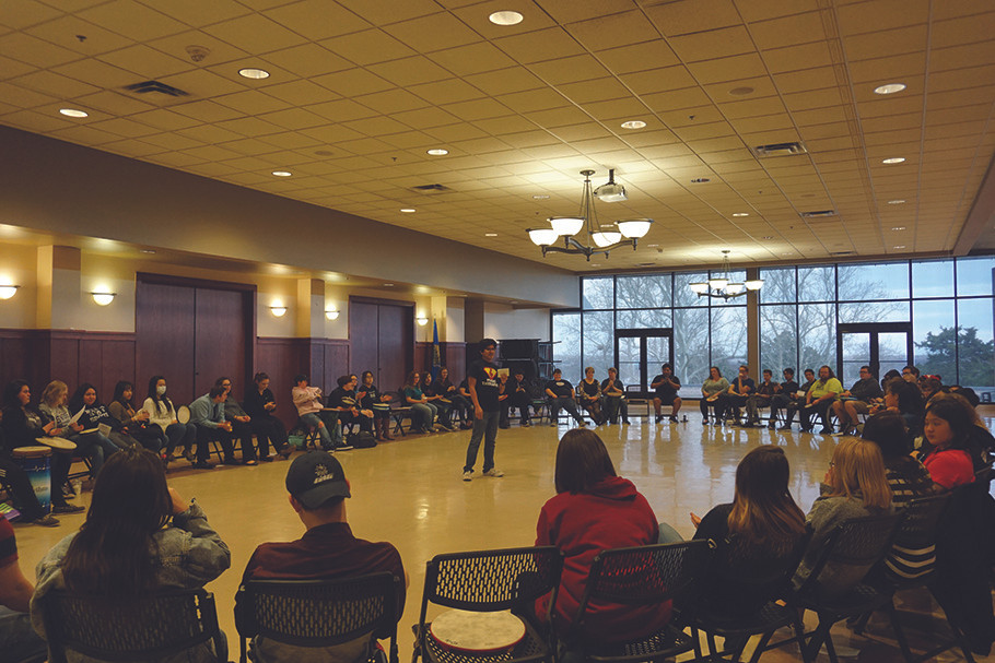 The Music Therapy Awareness Expo is one of several events planned in honor of Music Therapy Awareness Week. Photo: Lexi Clark.