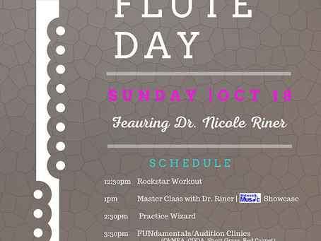SWOSU Flute Day planned in October