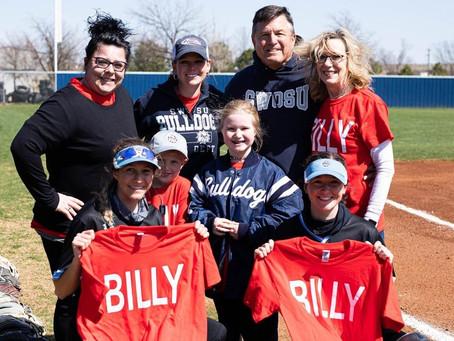SWOSU present Dobrinski Memorial Scholarship to two From Bulldog Softball