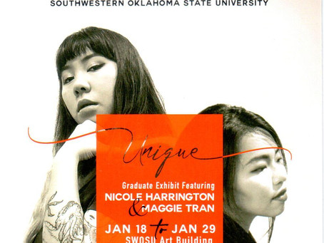 Harrington and Tran hosting graduate art exhibit at SWOSU