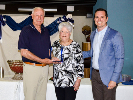 SWOSU bestows Linda Redinger Lifetime Achievement Award on Jim Waites