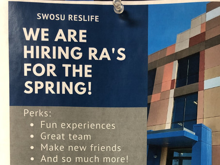 SWOSU is hiring new resident advisors