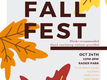 SWOSU Scuba hosts Fall Festival