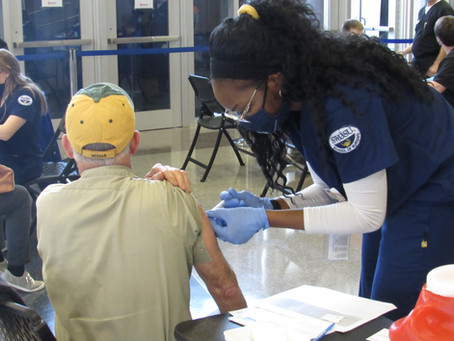 Part of national effort: Why SWOSU students help with COVID-19 vaccinations