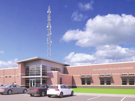 """""""Amazing facility:"""" New police station to be built in Weatherford"""