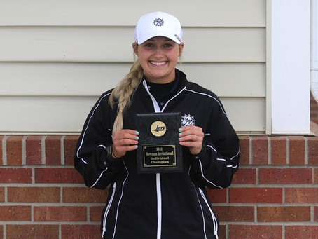 Megan Brown takes home a victory as SWOSU has another top-5 finish
