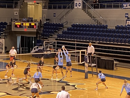 SWOSU Volleyball defeats Southern Nazerene in 3 sets