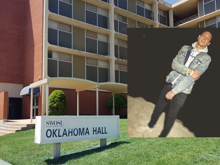 Did Jiffy Trip robber Brent Schroeder assault SWOSU student in Oklahoma Hall?