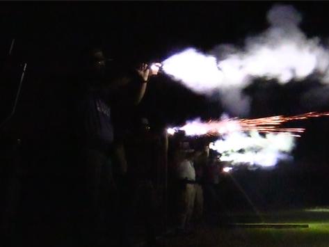 WATCH: CLEET Collegiate Officer Program at SWOSU conducts firearm training