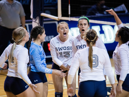 SWOSU Volleyball sweeps ECU 3-0, gets first win of the year