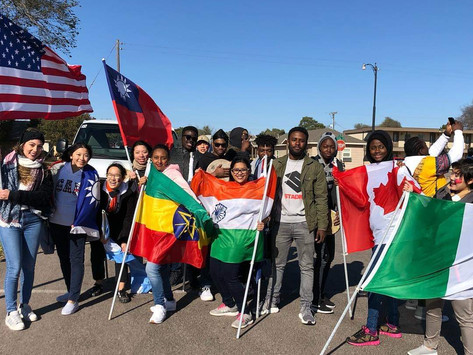 Support for 220 students from 35 countries: The International Office