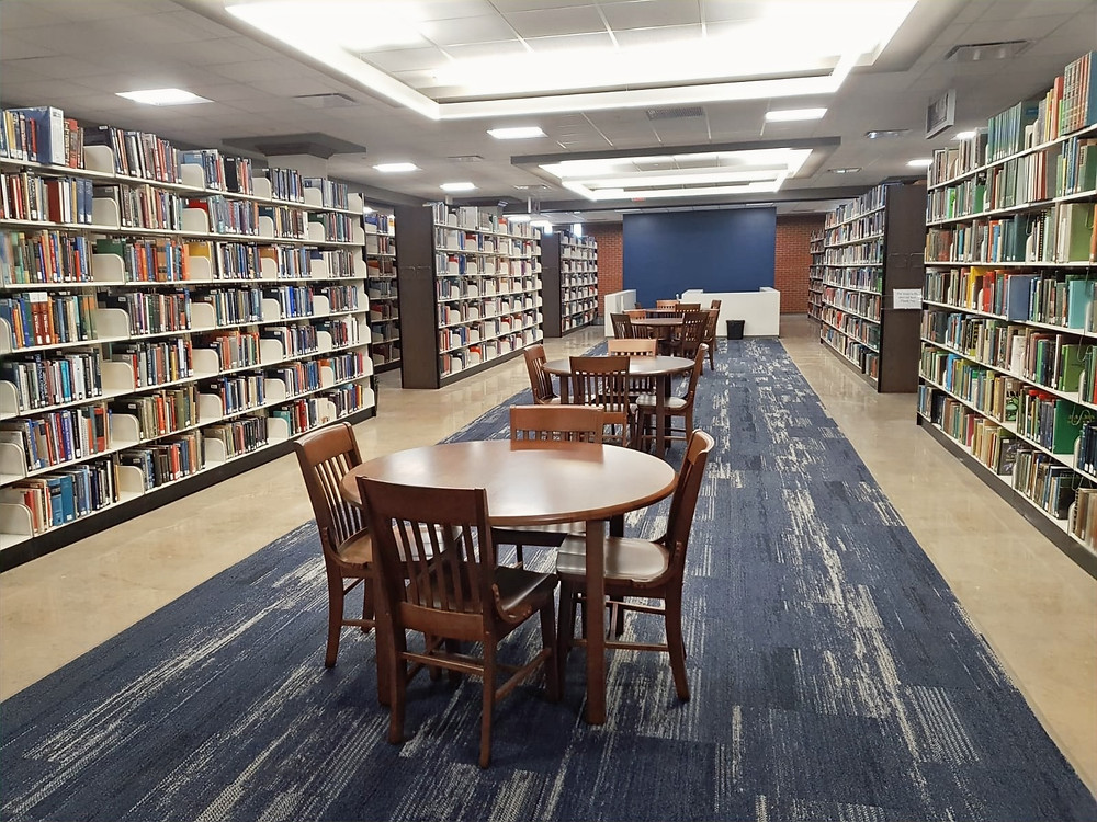 SWOSU's Al Harris Library has renovated its second floor. Photo: Johannes Becht