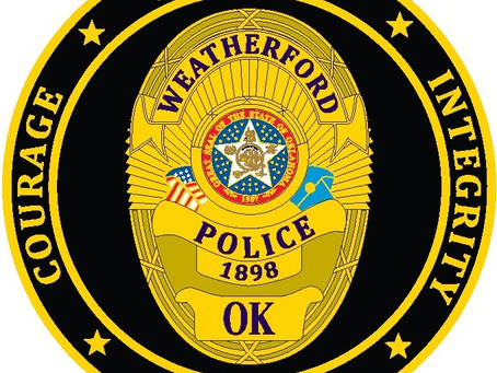 Weatherford police records July 29, 2021