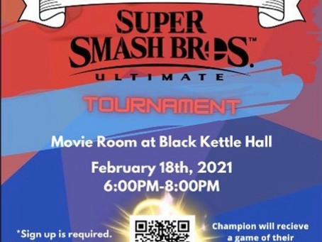 Smash Tournament at Black Kettle Hall