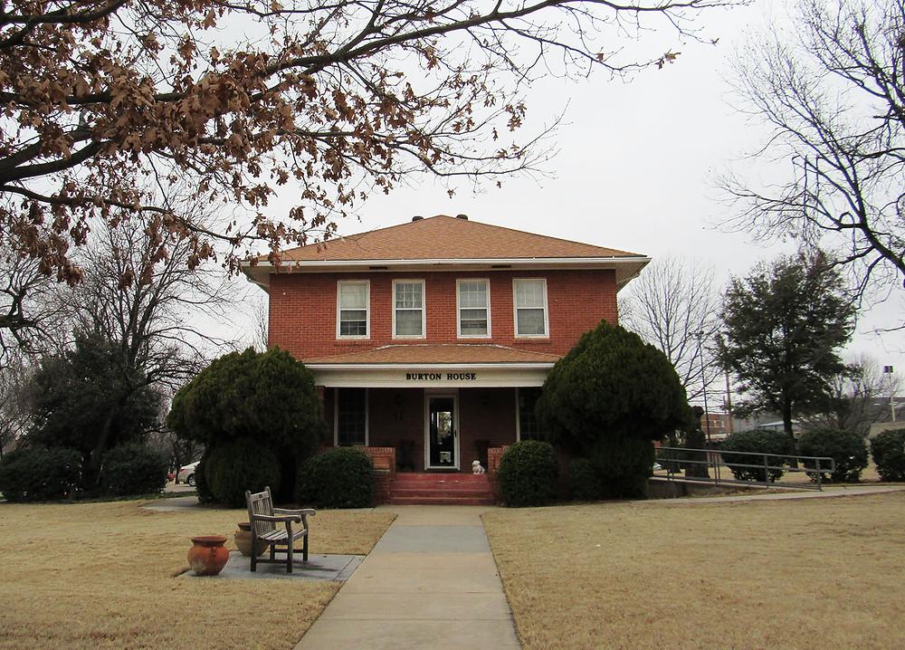 Burton House on the SWOSU campus. Photo: Kiersten Stone.