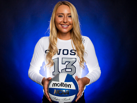 SWOSU Volleyball Player Profile: Senior Chezney Nielsen