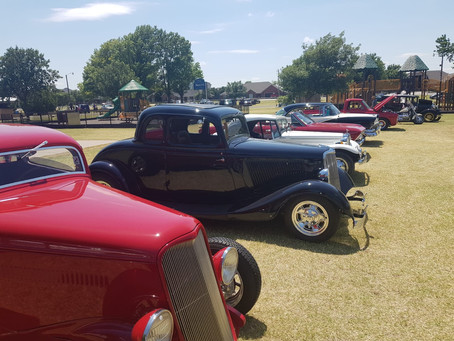 Weatherford Car Show