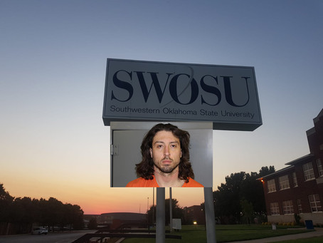 Why didn't SWOSU warn students of Brandon Woods breaking into dorms?