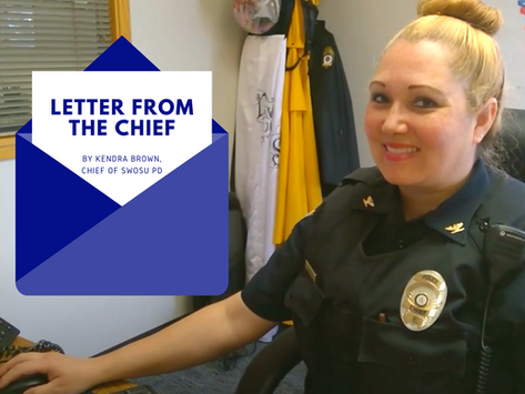 Letter from the Chief: Bystander Intervention