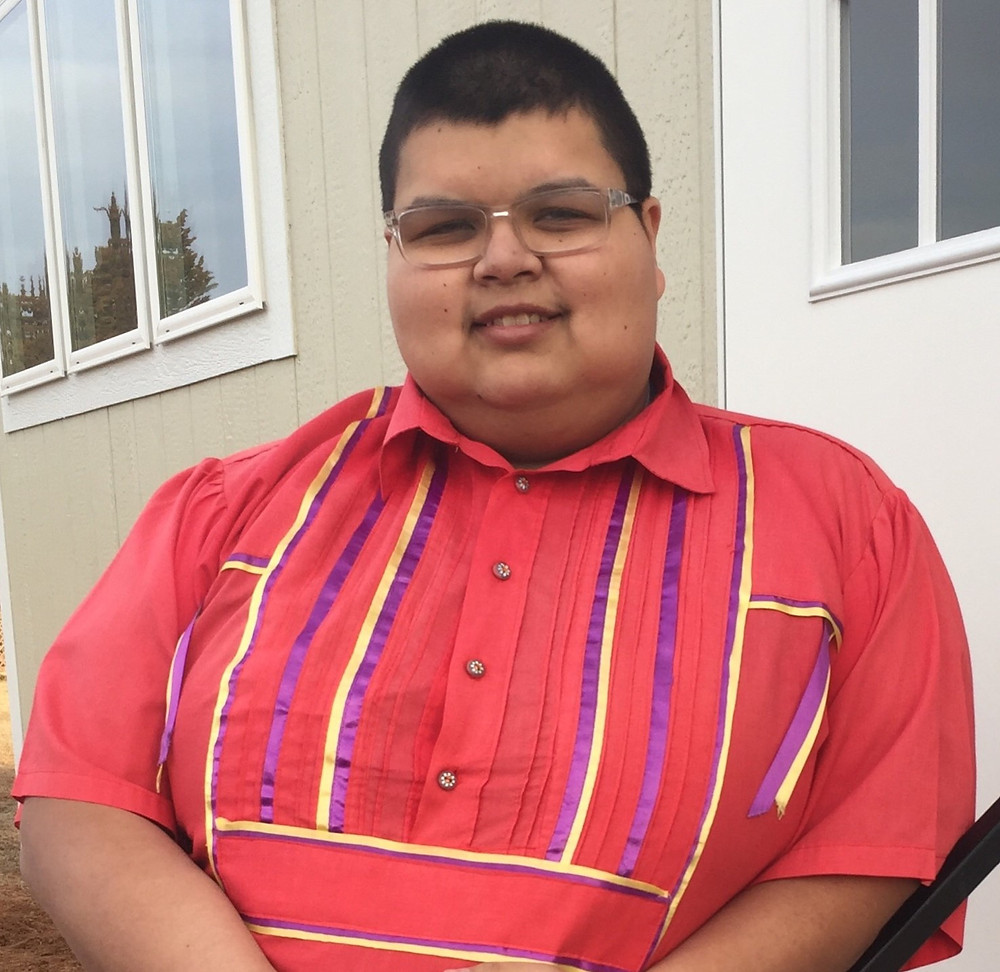 Michael Meeks II is running for Chairman of the Caddo Nation in Oklahoma. Photo provided by the candidate.