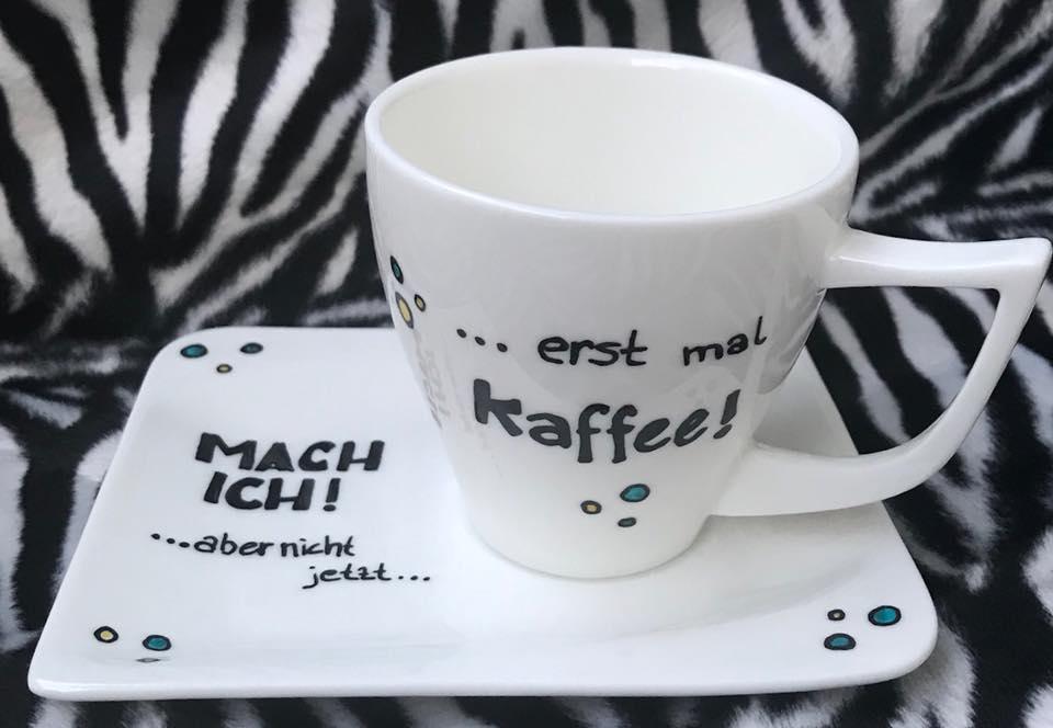 erst mal kaffee