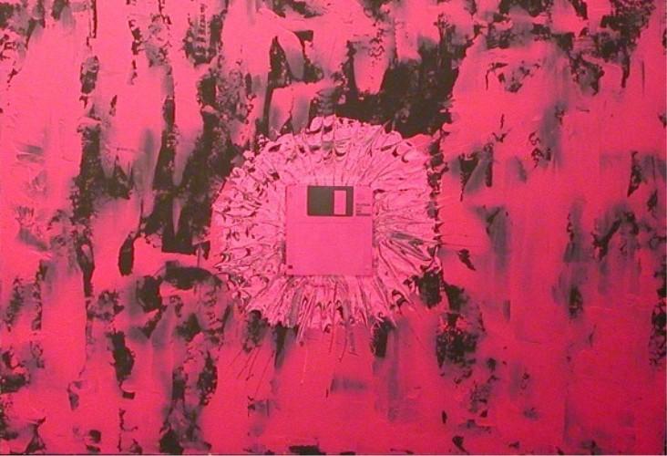 25 pink disc