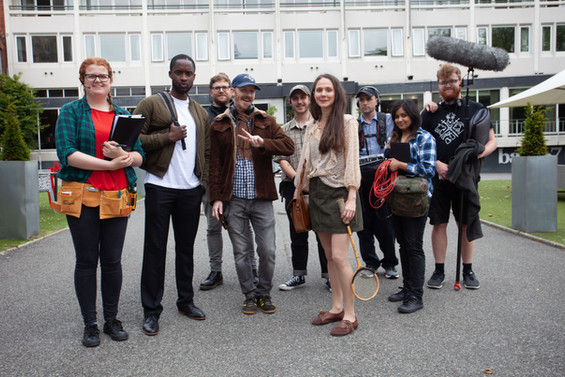 Partial crew from 'Mind-set'