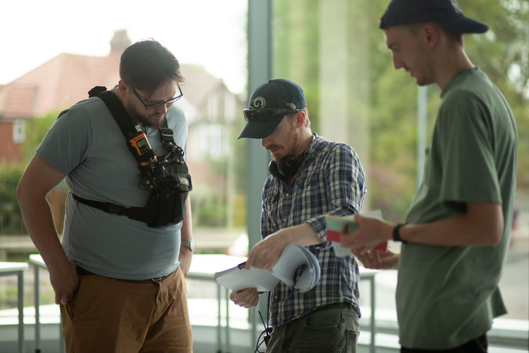 Jack Shelbourn (DoP) & Callum Mitchell (Camera Op) on 'Mind-set'