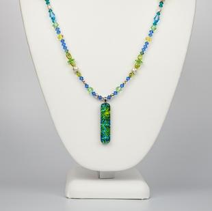 Green Blue Dragon Glass