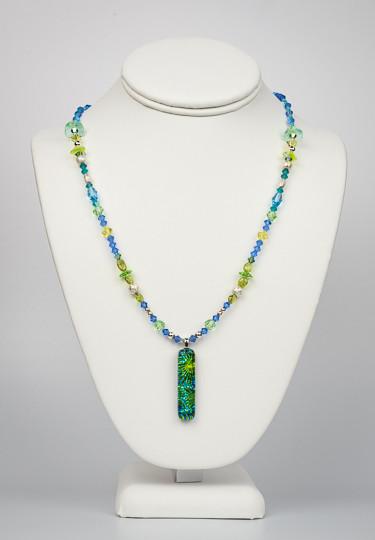Uniquely Created Green Blue Dragon Glass-3.jpg