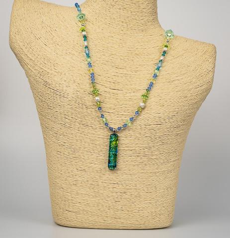 Uniquely Created Green Blue Dragon Glass-4.jpg