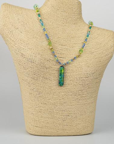 Uniquely Created Green Blue Dragon Glass-2.jpg
