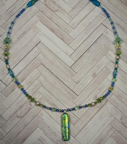 Uniquely Created Green Blue Dragon Glass-8.jpg
