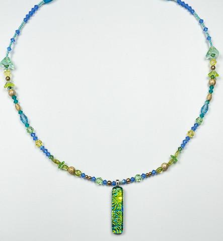 Uniquely Created Green Blue Dragon Glass-1.jpg