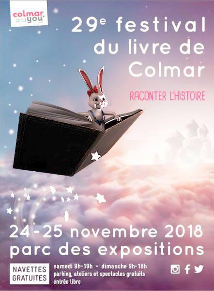 Festival du Livre de Colmar NLA