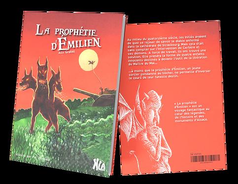 """Ebook """"La prophétie d'Emilien"""" tome 1"""