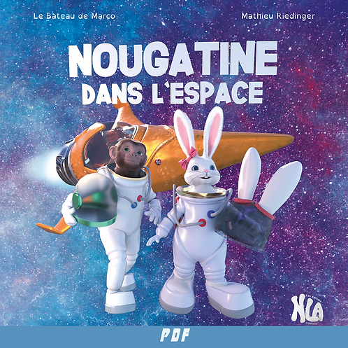 Nougatine dans l'espace