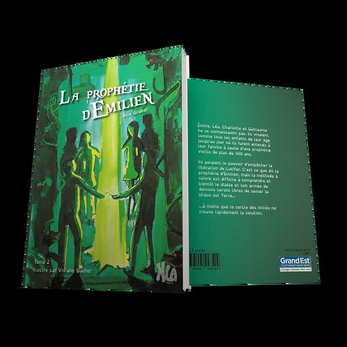 """Ebook """"La prophétie d'Emilien"""" tome 2"""