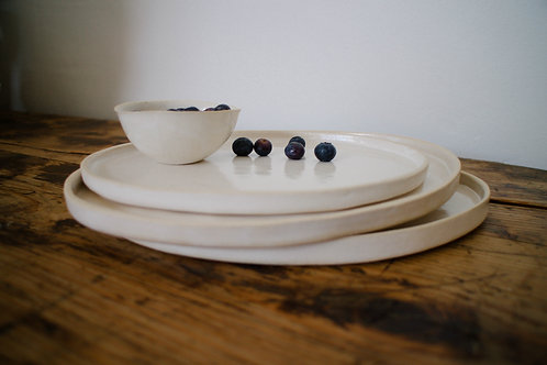MEDIUM SIDE PLATE - set of four
