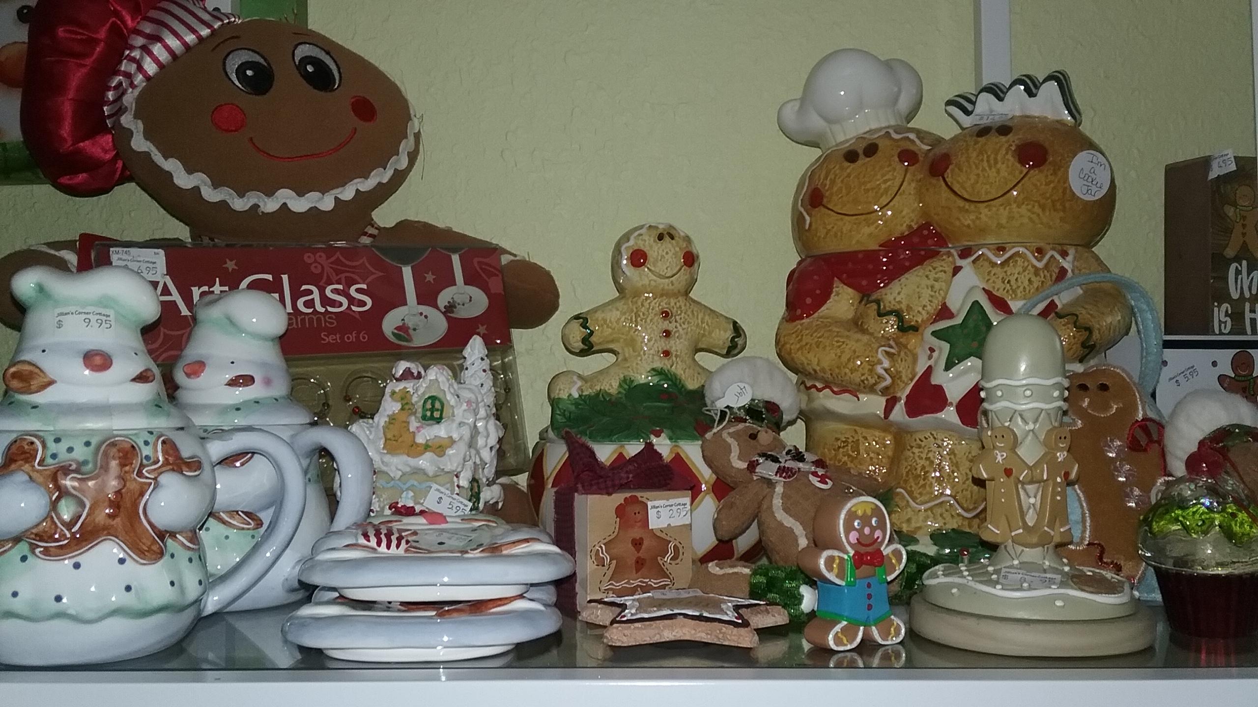 Gingerbread Assortment